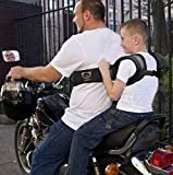 Motorcycle Safety Belt Baby Kids Child Seat Belt Outdoor Black Oxford Cloth NEW High Quality