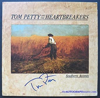 tom petty autographed album at amazon 39 s entertainment collectibles store. Black Bedroom Furniture Sets. Home Design Ideas