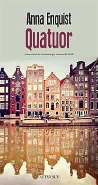 Quatuor - Anna Enquist 2016