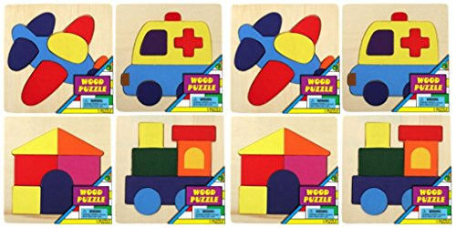 Ja-Ru ABC's Fun Puzzle PDQ Party Favor Bundle Pack
