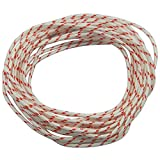 HIPA Recoil Starter Rope 10-Meter (Diameter: 3.0mm) Pull Cord for Husqvarna STIHL Sears Craftsman Poulan Briggs Stratton Lawn Mower Chainsaw Trimmer Edger Brush Cutter Engine parts