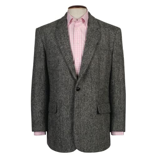 Genuine New Mens Classic Harris Tweed Wool Laxdale Jacket