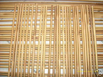 50 Bamboo Arrow Shafts (Shafts Only) 45-50#