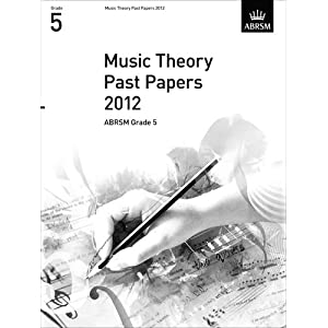 co.jp: Music Theory Past Papers 2012, ABRSM Grade 5 2012: 洋書