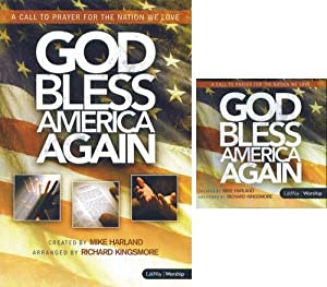 God Bless America Again - Sheet Music Choral Songbook with Listening CD (A Call to Prayer for the Nation We Love)