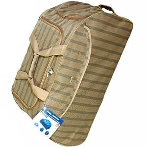 Aerolite Dubai Large 30 Inch Wheeled Luggage Bag (Beige) from Aerolite