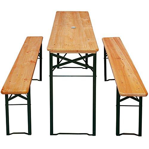 Meloo-Festzeltgarnitur-Bierzeltgarnitur-Sitzgarnitur-Bierbank-Tisch-Sitzgruppe-Holz