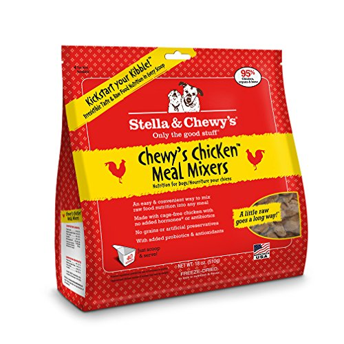 Stella & Chewy's Freeze-Dried Raw Chewy's Chicken Meal Mixers Dog Food Topper, 18 oz bag (Stella Chewy Freeze Dried Chicken compare prices)