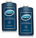 Cuticura Mildly Medicated Talc 250g **2 PACK DEAL**