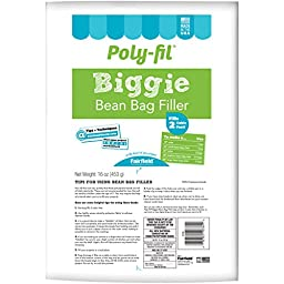 Poly-Fil Biggie Bean Bag Filler-16oz Fob: Mi