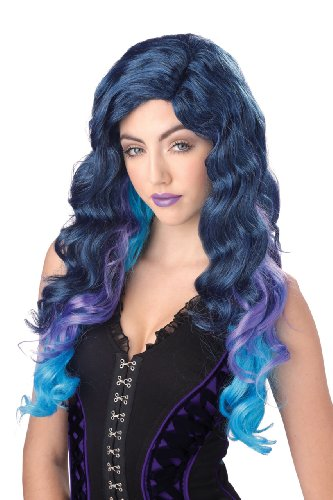 California Costumes Women's Color Cascade Wig