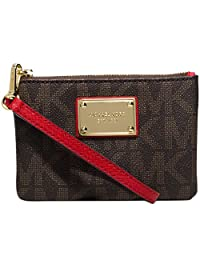 MICHAEL Michael Kors Jet Set Small Wristlet Chili Red