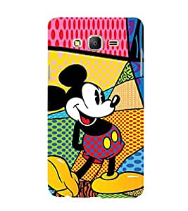 EPICCASE funny mickey Mobile Back Case Cover For Samsung Galaxy On7 (Designer Case)