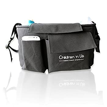 Stroller Organizer - Stroller, Bike, Car - Big Diaper Bag