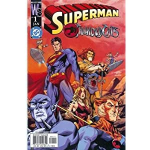 Thundercats Comic on Amazon Com  Superman And Thundercats  1  Wildstorm   Dc Comics   Judd
