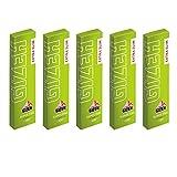 GIZEH(ギゼ) エクストラスリム スーパーファイン スローバーニング 手巻きタバコペーパー 100枚入り×5冊パック 7-20002-61x5