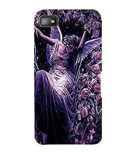ColourCraft Beautiful Angel Design Back Case Cover for BLACKBERRY Z10