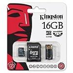 Kingston 16Go Multi Kit - Kit avec ca...