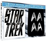 51vroO c tL. SL160  Star Trek (Limited Edition Blu ray Gift Set with Replica Starfleet Division Badges) [Blu ray]