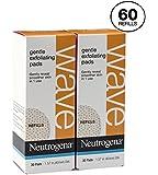 60 Neutrogena Gentle Exfoliating Puff Refills pads