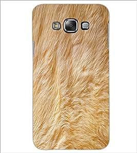PrintDhaba Fur D-2037 Back Case Cover for SAMSUNG GALAXY E7 (Multi-Coloured)