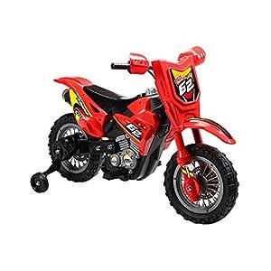 mini motos dirt bike 6v red sports outdoors. Black Bedroom Furniture Sets. Home Design Ideas