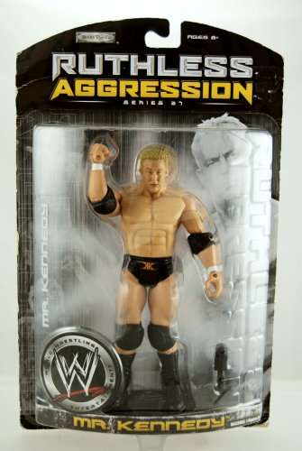 WWE - 2007 - Ruthless Aggression Series 27 - Mr. Kennedy Action Figure - w/ Microphone - Limited Edition - Collectible - 1