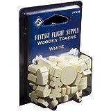 Fantasy Flight Supply: Wood Tokens: White