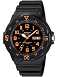 Casio #MRW200H-4BV Men's Easy Reader 100M Sports Analog Watch