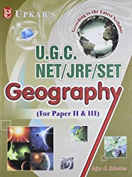 UGC NET/JRF/SET Geography (For Paper II And III)