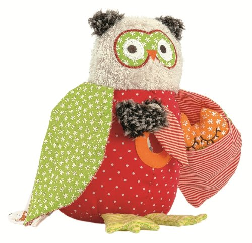 Kathe Kruse Alba Activity Owl, 9""