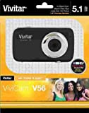 Vivitar 5.1MP Camera with 1.8-Inch TFT Panel, Colors/Styles May Vary (V56)