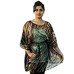 Etti Be Trendy Women's Kaftan (ES307_Green_Free Size)