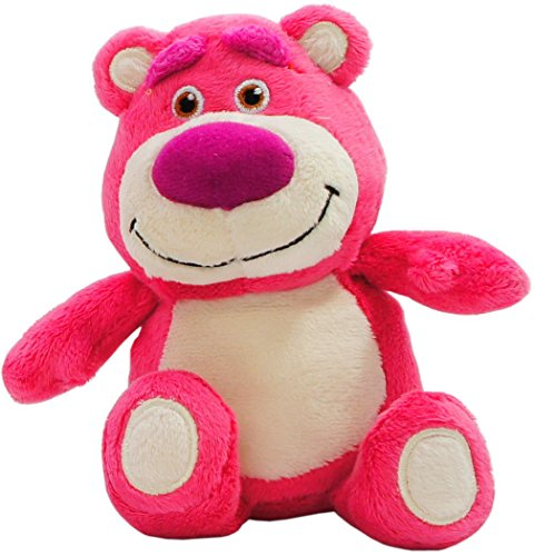 Japan Disney Official Toy Story - Lots-o'-Huggin' Bear Cute Stuffed Doll Special Edition Medium Size Pink Teddy Animal Mascot Beans Collection Wonderful Interior Decorative (Toy Story Buttercup)