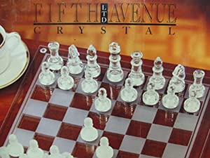 Fifth Avenue Crystal Chess & Checkers Set