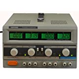 Tekpower TP-3005D-3 Digital Variable Triple Outputs Linear-type DC Power Supply, 0-30 Volts @ 0-5 Amps