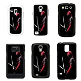 Spawn And Deadpool cover case for Samsung Galaxy S2 i9100 - Black - T1219 - X Force