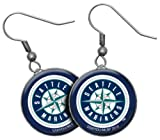 MLB Seattle Mariners Earrings - 1-drop, 3/4-inch Amazon.com