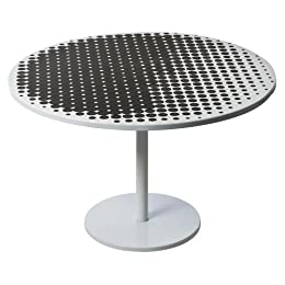 Product Image Pedestal Coffee Table - Pixilated Dot