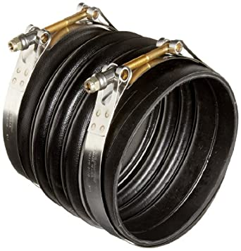 "Flexicraft SLV Rubber Flexible Coupling, 6"" ID x 7"" Length: Industrial"