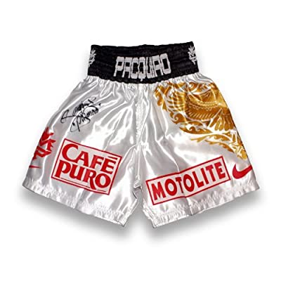 Manny Pacquiao Signed Boxing Trunks: Vs Ricky Hatton