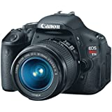 Best Digital SLR Cameras Overall Under $700: Canon EOS Rebel T3i (with 18-55mm IS Lens)