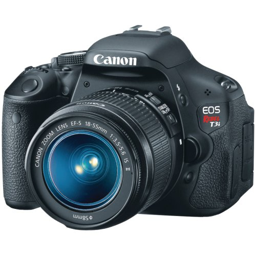 Canon EOS Rebel T3i (with 18-55mm IS Lens)
