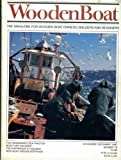 img - for Woodenboat Wooden Boat Magazine. November December 1987. Number 79. Single Issue Magazine. The Magazine for Wooden Boat Owners, Builders and Designers. book / textbook / text book