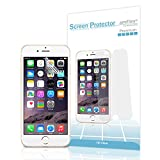 "iPhone 6 Plus Screen Protector, amFilm® HD Clear Screen Protector for iPhone 6 Plus 5.5 inch 5.5"" 2014 ATT Verizon T-mobile Sprint (3-Pack) [Lifetime Warranty]"