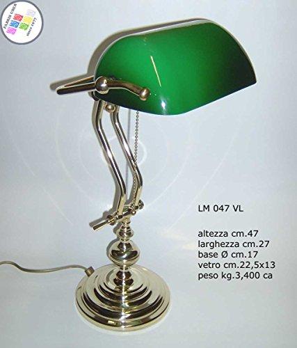 lampada-churchill-lusso-studio-scrivania-scrittoio-vetro-verde-ottone-lucido-regolabile
