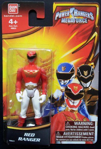 Saban's Power Ranger Megaforce Red Ranger Single Pack - 1