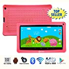 Contixo 9 Inch Quad Core Android 4.4 Kids Tablet, HD Display 1024x600, 1GB RAM, 8GB Storage, Dual Cameras, Wi-Fi, Bluetooth 4.0, Kids Place App & Google Play Store Pre-installed, 2015 May Edition, Kid-Proof Case (Pink)