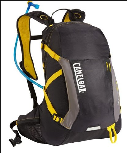 Camelbak Products Octane 22 LR Hydration Backpack, Black/Lemon Chrome, 100-Ounce CamelBak B009040QEM