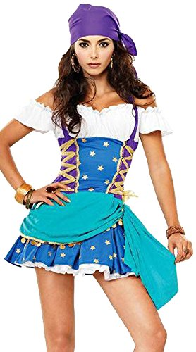 GALHAM - ML9003 Cheap and High Quality Adult Sexy Christmas Gypsy Costume